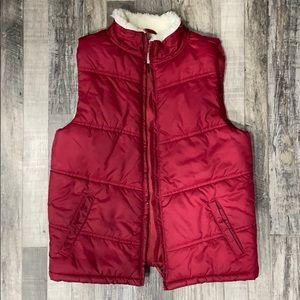Gymboree Girls Deep Red Vest